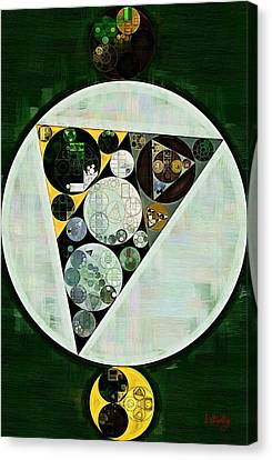 Abstract Painting - Willow Grove Canvas Print by Vitaliy Gladkiy