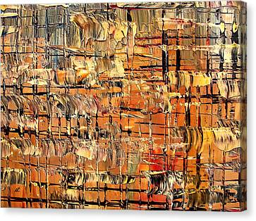 Abstract Part By Rafi Talby Canvas Print by Rafi Talby
