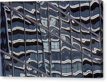 Canvas Print - Abstract Rotterdam by April Bielefeldt