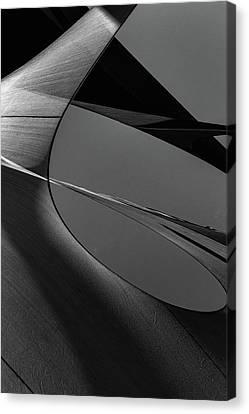 Canvas Print featuring the photograph Abstract Sailcloth 202 by Bob Orsillo