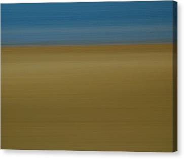Abstract Seascape 2 Canvas Print by Juergen Roth