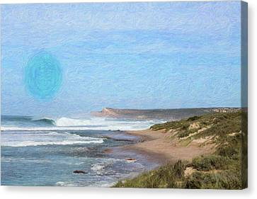 Abstract Seascape Canvas Print by Adam Asar