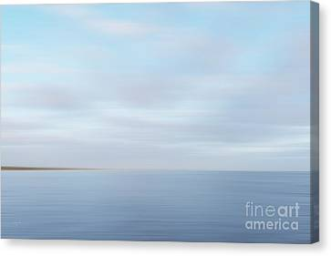 Canvas Print featuring the photograph Abstract Seascape by Ivy Ho