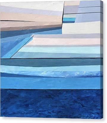 Abstract Swimming Pool Canvas Print