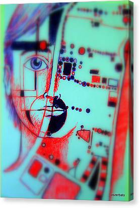 Abstract Thought Canvas Print by Paulo Zerbato