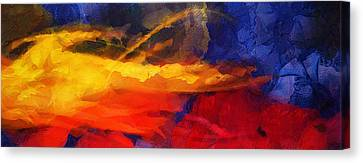 Abstract - Throw  Canvas Print