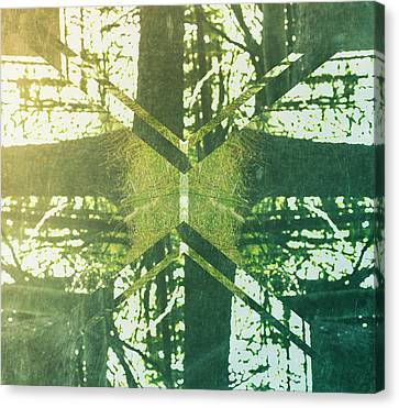 Abstract Trees Canvas Print by Thubakabra