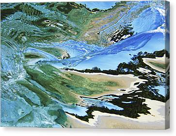 Abstract Underwater 4 Canvas Print by Vince Cavataio - Printscapes