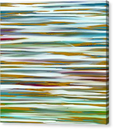 Abstract Water Reflection Canvas Print by Frank Tschakert