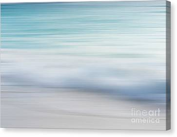 Canvas Print featuring the photograph Abstract Wave Photograph by Ivy Ho