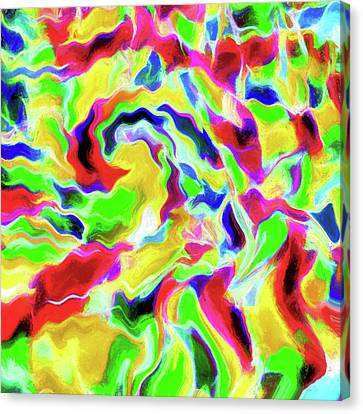 Abstract Art On Canvas Print - Abstract - Wavelength by Jon Woodhams