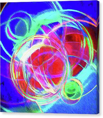 Abstract - Where Worlds Collide Canvas Print