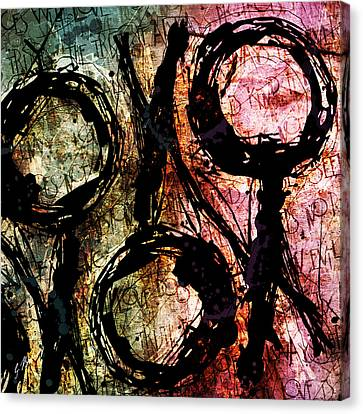 Abstracta_06 Canvas Print by Gary Bodnar