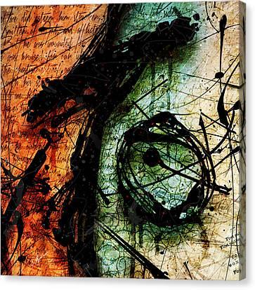 Abstracta_07 Sacrifice Canvas Print by Gary Bodnar