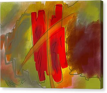 Abstraction Collect 3 Canvas Print
