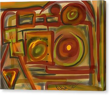 Abstraction Collect 4 Canvas Print