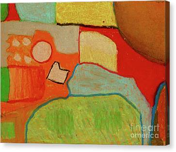 Abstraction123 Canvas Print by Paul McKey