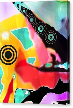 Abstractly Circular Canvas Print