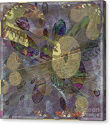 Abstractoplosion Canvas Print by Dawn Pearce