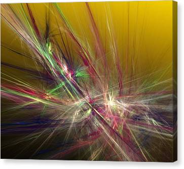 Expressionism Digital Art Canvas Print - Abstracty 110310 by David Lane