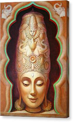Abundance Meditation Canvas Print by Sue Halstenberg
