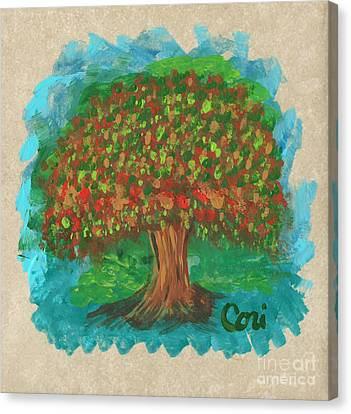 Abundant Tree Canvas Print