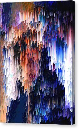 Abuse Phenomenon Canvas Print by Alix Rumble
