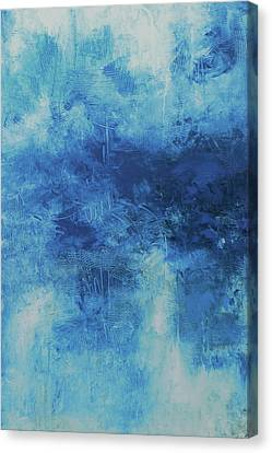 Abyss Blue Canvas Print