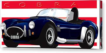 Ac Cobra Canvas Print