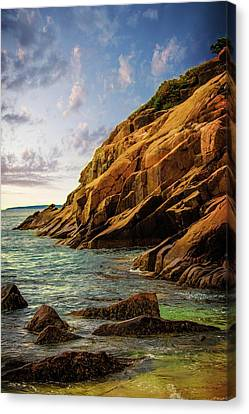Acadia National Park--maine Canvas Print by Sherman Perry