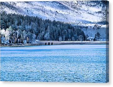 Acadia Winter Canvas Print