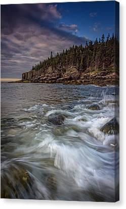 Acadian Tide Canvas Print by Rick Berk
