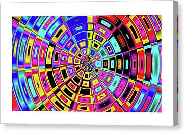 Acceleration Force I Canvas Print by Art Dreams