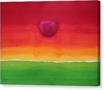 Acceptance Original Painting Canvas Print
