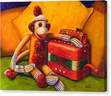 Accordion Canvas Print by Shannon Grissom
