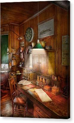 Accountant - Tax Season Again Canvas Print