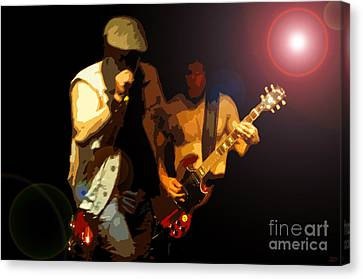 Acdc Canvas Print by David Lee Thompson
