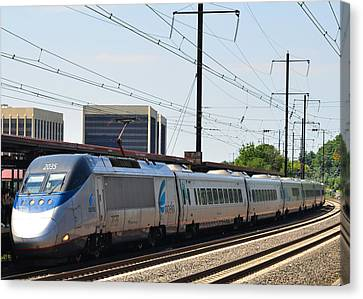 Acela Express Canvas Print