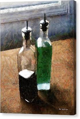 Aceto E Olio Canvas Print by RC deWinter