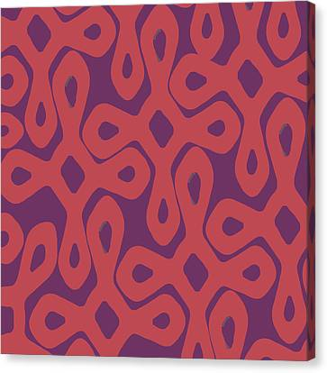 Pattern Canvas Print - Achievers by Udai Singh