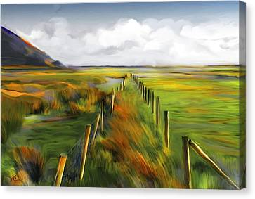 Achill Island - West Coast Ireland Canvas Print by Bob Salo