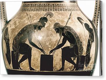 Achilles & Ajax, C540 B.c Canvas Print by Granger