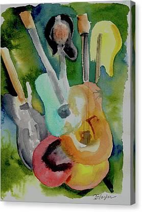 Acoustic Alchemy Canvas Print by Cindy Glazier
