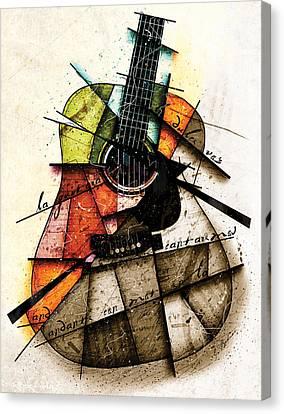 Acoustic Alchemy Canvas Print by Gary Bodnar