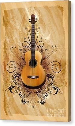 Acoustic Elegance Canvas Print by Bedros Awak