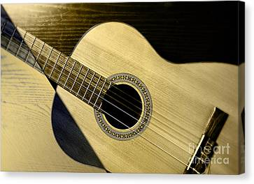 Guitarist Canvas Print - Acoustic Guitar Collection by Marvin Blaine