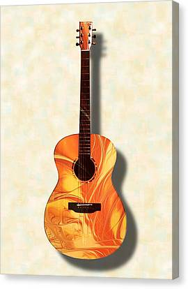 Acoustic Guitar - Musical Instruments Canvas Print