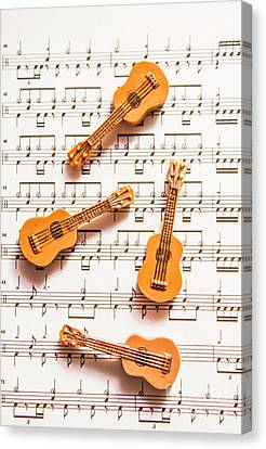 Acoustic Quartet Canvas Print by Jorgo Photography - Wall Art Gallery