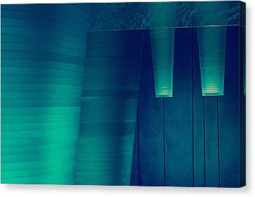 Canvas Print featuring the photograph Acoustic Wall by Bobby Villapando