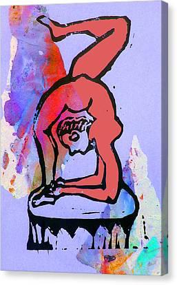 Acrobat 5 Canvas Print by Adam Kissel